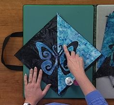 Create truly unique quilt designs with fabrics you can make with the help of quilting experts in this video download! They give great artistic ideas and design techniques that are sure to help in your future quilting projects. #LetsQuilt