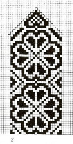 Mönster pattern hjärt-rosa You are in the right place about topflappen stricken perlmuster Here we o Cross Stitch Bookmarks, Crochet Bookmarks, Cross Stitch Charts, Cross Stitch Embroidery, Cross Stitch Patterns, Knitting Charts, Knitting Stitches, Knitting Patterns, Tapestry Crochet Patterns