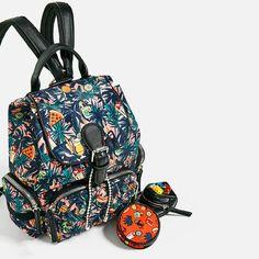 Zara - Coleção de bolsas, sacos, mochilas...