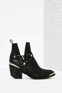 Jeffrey Campbell Orwell Leather Harness Boot - Jeffrey Campbell