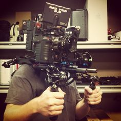 Camera operating tonight for Triple Horse. I'm digging the Red rig! by @waltonch87 #R3D