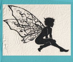 Fairy Silhouette by ~OnceISpoke on deviantART