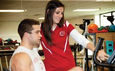 Athletic Training:  A career in athletic training is unique because it combines a well-rounded knowledge of the sports industry with an expertise in training, conditioning and medicine. As an athletic trainer, you'll interact with athletes at all skill levels--from those on the little league team to those on a professional playing field.