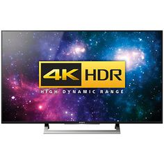 "Buy Sony Bravia 55XD8005 LED HDR 4K Ultra HD Android TV, 55"" With…"