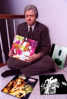 Remember that Bill Clinton used to listen to Hole.