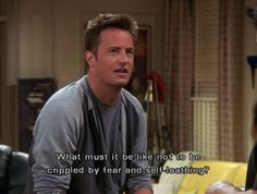 44 Reasons Why You're Chandler Bing