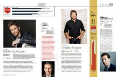 Entertainment Weekly Design Director: Tim Leong Deputy Design Director: Keir Novesky Photo Director: Lisa Berman Art Director responsible for the look of this issue: Jennie Chang Opening page: Jennie Chang and Keir Novesky Best Actress:...