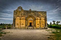 An ancient church in Puglia, Italy