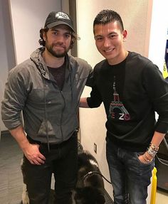 """405 Likes, 6 Comments - Henry Cavill News (@henrycavillnews) on Instagram: """"""""Met #Superman tonight (..) such a gentleman!"""" Andy's pic with @HenryCavill in #Montreal, he met…"""""""
