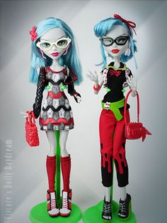 new Ghoulia Fashion Pack by Vivienne-Wormwood