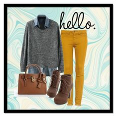 Fall Fashion Idea. Cute everyday outfit.