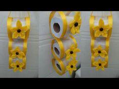 Plastic Spoon Crafts, Reuse Plastic Bottles, Recycled Bottles, Boarder Designs, Toilet Roll Holder, General Crafts, Diy Home Crafts, Decoration, Diy Gifts