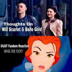 #OUAT fandom reaction to ScarletBeauty