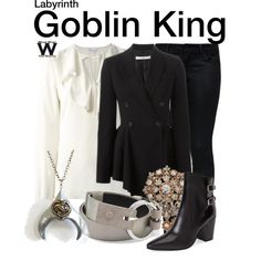 Inspired by David Bowie as Jareth, The Goblin King in 1986's Labyrinth.