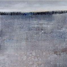 Seán Cotter - Silver light. Oil on canvas, 36 x 36
