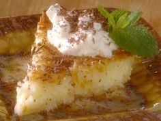 French Coconut Pie recipe from Paula Deen via Food Network
