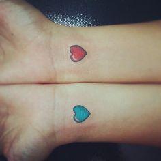 Pin for Later: 50 Herz-Tattoos, die eure Liebe für Tattoos bestätigen Herz-Tattoos