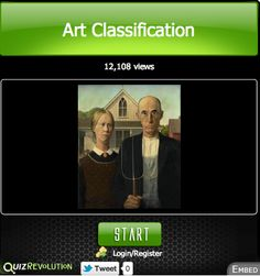 Create Your Own Art Quizzes using Quiz Revolution (formally MyStudyio)