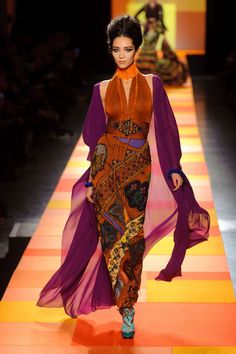 Jean Paul Gaultier - Haute Couture - Spring 2013 - Spring 2013's Most Beautiful Haute Couture Gowns - StyleBistro