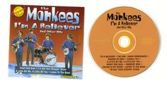 "THE MONKEYS ""I'm A Believer"" Cd Compact Disc Free S/H USA #SingerSongwriter"