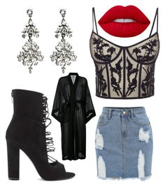"""""""extra"""" by boturovic-kristina on Polyvore featuring Kendall + Kylie, Ben-Amun, Alexander McQueen, Lime Crime and ISABEL BENENATO"""