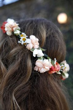 small flower crown xx