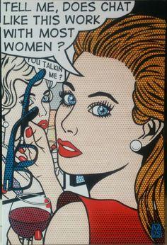 Malcolm Smith (1910-1966) - 24 x 36 Acrylic on panel Kathleen Turner