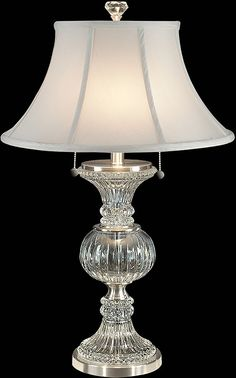 Waterford Crystal Kingsley 22 Quot Crystal Lamp My Style