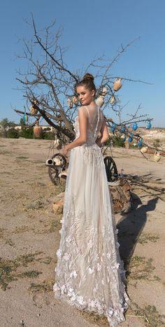 cap sleeves 3d floral applique a line wedding dress #weddingdress #weddingdresses #weddinggown #bridedress