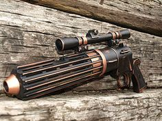Boba Fett Blaster - one Steampunk design