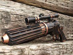 Boba Fett Blaster - one Steampunk design