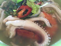 31. juli 2017 - Nærende morgenmad med blæksprutte