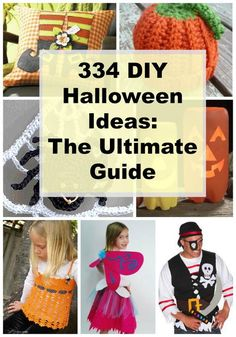 334 DIY Halloween Ideas: The Ultimate Guide | Great homemade Halloween costume ideas!