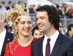 Kate Winslet, de 37 años, espera su tercer hijo, el primero con su marido, Ned Rocknroll