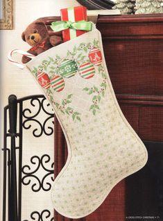 Gallery.ru / Фото #72 - A Cross Stitch Christmas - Holiday Celebrations - ravi