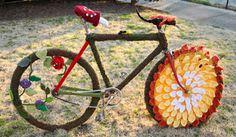 URBAN KNITTING BILBAO: The Nature Bike