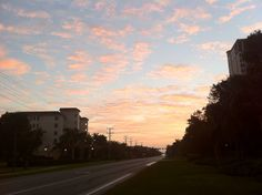 Sunrise in Naples Florida