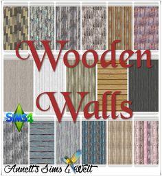 Annett's Sims 4 Welt: Wooden Walls