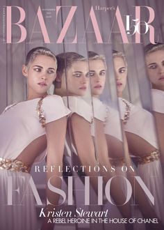 Kristen Stewart by Tom Craig for Harper's Bazaar UK September 2017 Covers
