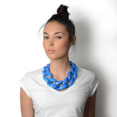 Diana Broussard Nate Necklace in Sky