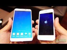 Samsung Galaxy Note 3 vs Apple iPhone 5: Quick Look