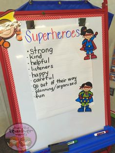 Are Your Students Superheroes?