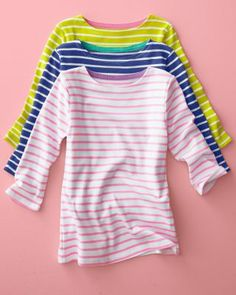Favorite Cotton Boatneck - Baby Girls & Girls
