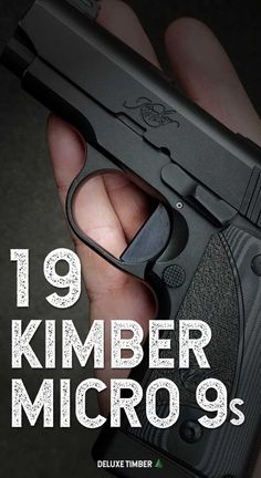Looking for your first concealed carry gun or just wanting to change things up? Check out these awesome kimber micro 9 ideas! Concealed Carry Weapons, Weapons Guns, Guns And Ammo, Gun Holster, Holsters, Kimber America, Kimber Micro, 1911 Pistol, Campers