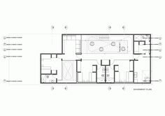 Gallery of House In Palabritas / Metropolis - 16 Basement Plans, House Floor Plans, Projects To Try, Flooring, How To Plan, Architecture, Gallery, Image, Houses