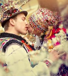 Carpathian wedding, Ukraine, 2010, photograph by Natalia Kabliuk.