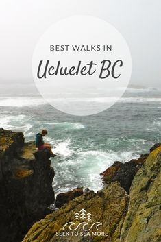 Located near the popular surf town of Tofino, Ucluelet also boasts beautiful ocean views. Here are some of the best walks in Ucluelet BC. Vacation Places, Places To Travel, Places To See, Maui Vacation, Travel Stuff, Vacations, Vancouver Travel, Vancouver Island, Ucluelet Bc