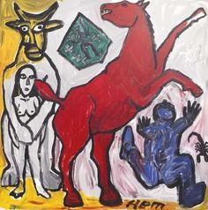 A.R. Penck, Olé Njet 1995