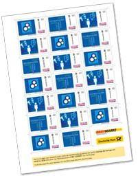 Deutsche Post- Briefmarken individuell gestalten!