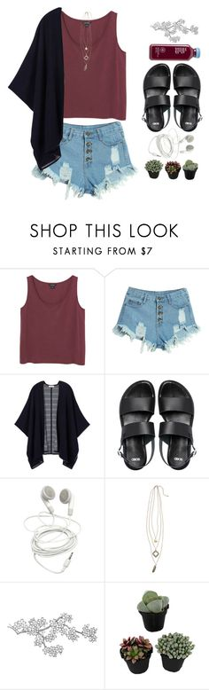 """need a little sweetness in my life"" by brooksse ❤ liked on Polyvore featuring moda, Monki, WithChic, Tory Burch, ASOS, BP., women's clothing, women, female e woman"